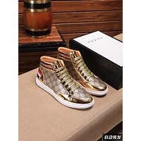 Gucci Men Fashion Boots fashionable Casual leather Breathable Sneakers Running Shoes12