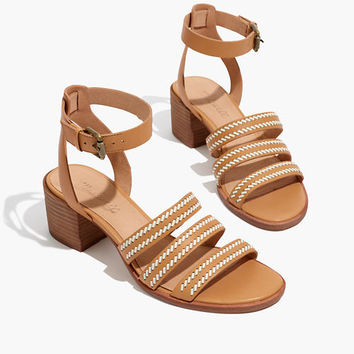 The Lily Whipstitch Sandal