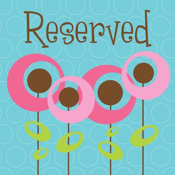 Reserved Listing for Briana