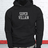 ASAP Rocky Mob Yolo  Super Villain Hero Hip Hop  Mens Black Hoodie