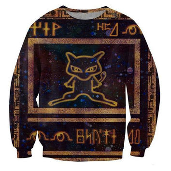 3D Sweatshirt Pokemon Mew Deluxe Edition