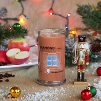 Christmas Kitchen Ring Candle