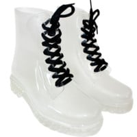 CLEAR BOOTS