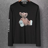 Boys & Men Casual Edgy Long Sleeve Top Tee