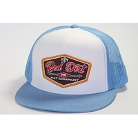 Red Dirt Hat Co Blue T-Bird   Snap Back Trucker Hat