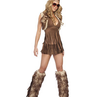 J Valentine Groovy Baby Hippie Costume - Only S/M Left