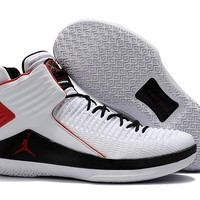 Nike Air Jordan 32 XXXII Retro AJ32 White/Black/Red Sneaker Shoes US7-12