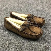 UGG Slippers DAKOTA Women Shoes 5612 CHESTNUT-1