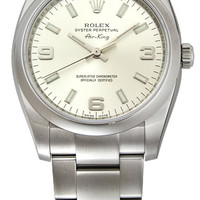 Rolex Airking Mens 31 Jewels Automatic Watch 114200SASO