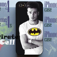 Liam Payne Batman T-shirt Direction 1D All Person Collage COver ALbum Fallen For Curly Cover iPhone 4 4s 5 5s 5c And Samsung Galaxy S3 S4