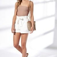 Kendall and Kylie Paperbag Waist Shorts at PacSun.com
