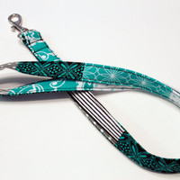 Fabric Lanyard ID badge holder - Great Teacher Gift, Nurse, Student, Coach lanyard - Quilted Roses