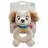 Lady Plush Rattle for Baby