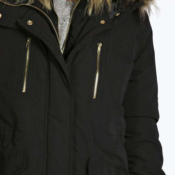 Boutique Anna Double Layer Luxe Parka