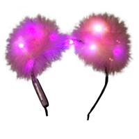 The FIRST and ONLY LED fuzzy ears