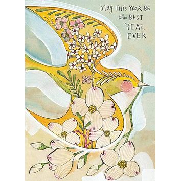 May This Year Be the Best Year Ever Greeting Card
