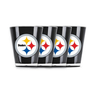 4 piece shot glass set - Pittsburgh Steelers