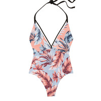 Strappy Plunge One-Piece - PINK - Victoria's Secret