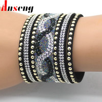 An Seng Romantic Zinc Alloy Bracelets For Women Slpg721