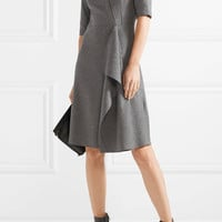 Tomas Maier - Draped felt dress