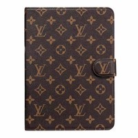 LV Monogram IPAD Protective Case - Brown