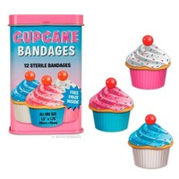 Cupcake Bandages - Whimsical & Unique Gift Ideas for the Coolest Gift Givers