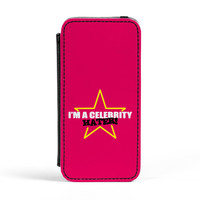 Celebrity Hater PU Leather Case for iPhone 5/5s by Chargrilled