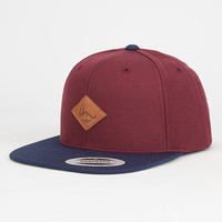 Imperial Motion Alvin Mens Snapback Hat Maroon One Size For Men 27254432301