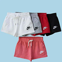Nike Loose Cotton Casual Trousers Female Shorts