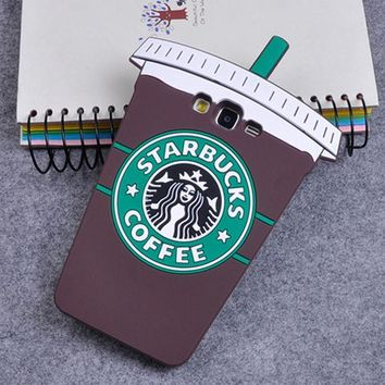 CREYONEJ OPAL FERRIE - 3D Starbuck Coffee Cup Soft Silicone Case