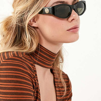 Vintage Lion Oval Sunglasses | Urban Outfitters