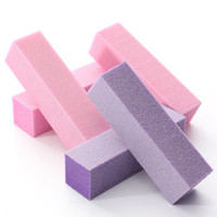 DANCINGNAIL 2Pcs Nail Buffing Sanding Polishing File Block Buffer Chunk Manicure Pedicure Tool