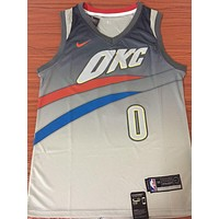 Oklahoma City Thunder #0 Russell Westbrook City Edition Jersey | Best Deal Online