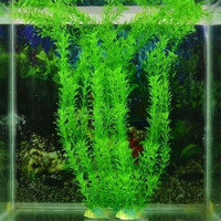 37cm Underwater Artificial Aquatic Plant Ornaments Aquarium Fish Tank Green Water Grass Decor Landscape Decoration