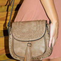 Hang On Tight Purse: Brown