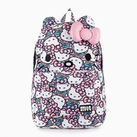 Hello Kitty 3D Backpack: White Pearls Collection