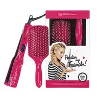 Paul Mitchell Pardon My French Express Ion Smooth+ with Paddle Brush - Pink
