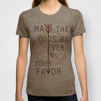 The Hunger Games Poster 02 T-shirt by Misery | Society6