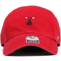 Chicago Bulls Abate Clean Up Unstructured Strapback Hat Red