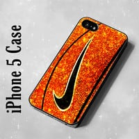 IDL5134 Nike Basketball Glitter iPhone 5 case