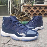 Air Jordan 11 Retro Navy/White