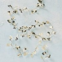 Gilded Leaves String Lights by Anthropologie in Gold Size: One Size House & Home