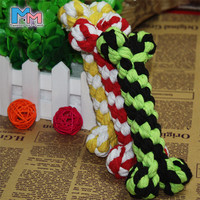 2017 Pet Champion Bone Rope dog Chew Toy Large Pet Dog Puppy Cotton Chew Knot Toy 15cm length pet chrew toys free shipping PF03