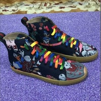 Gucci 3D pattern bottomed high-tops brevis-ocrea