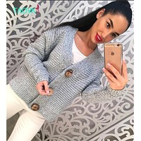 TAOVK Russian style design new 2016 fashion women Autumn sweater cardigans 4colors Short paragraph loose knit cardigans