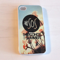 Floral Case - 5 Seconds of Summer Inspired