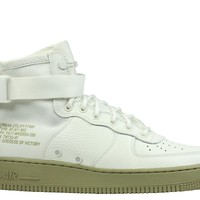 Nike Men's SF Air Force 1 Mid Ivory Neutral Olive