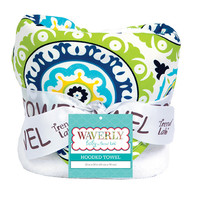 Hooded Towel - Waverly Solar Flair + other designs