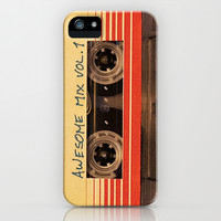 Awesome Mix Vol. 1 Guardians of the Galaxy iPhone & iPod Case by tepras