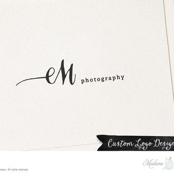 premade logo design text logo text only logo photography logo website logo blog logo watermark logo business logo typographic logo design
